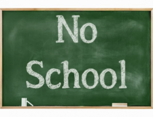 No School Days- December 2019/January 2020